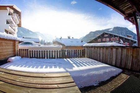 Rent in ski resort 3 room apartment 7 people (CAN004) - Résidence Lou Candres - Châtel - Winter outside