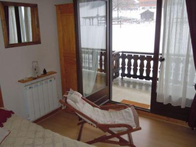 Rent in ski resort 2 room apartment sleeping corner 4 people (PNG004B) - Résidence Perce Neige - Châtel - Living room