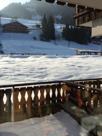 Rent in ski resort 2 room apartment sleeping corner 4 people (PNG007B) - Résidence Perce Neige - Châtel - Winter outside