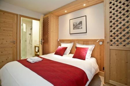 Rent in ski resort Résidence Prestige les Fermes de Châtel - Châtel - Double bed