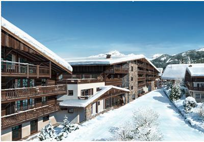 Location Chatel : Residence Prestige Les Fermes De Chatel hiver