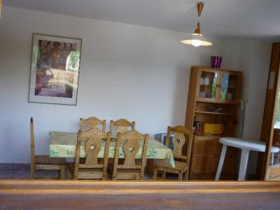 Rent in ski resort 3 room apartment 6 people (SQU008) - Résidence Squaw Valley - Châtel - Table