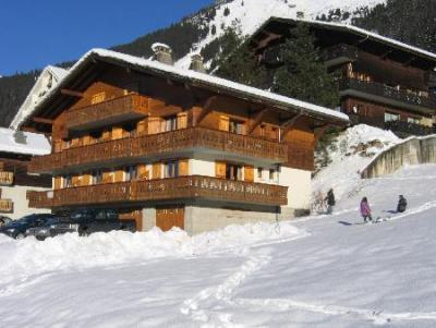 Rent in ski resort Résidence Squaw Valley - Châtel - Winter outside