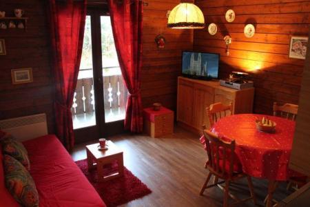 Rent in ski resort 2 room apartment sleeping corner 4 people (YT4052) - Résidence Yéti - Châtel - Living room
