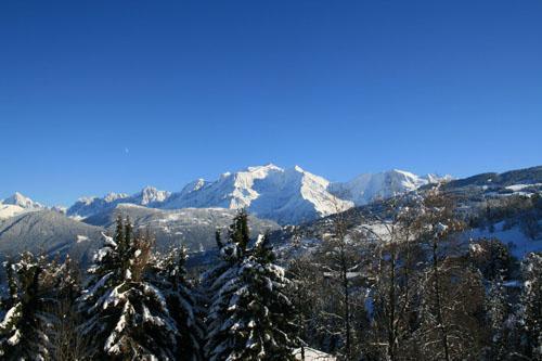 Location au ski Residence La Grande Cordee - Combloux - Extérieur hiver
