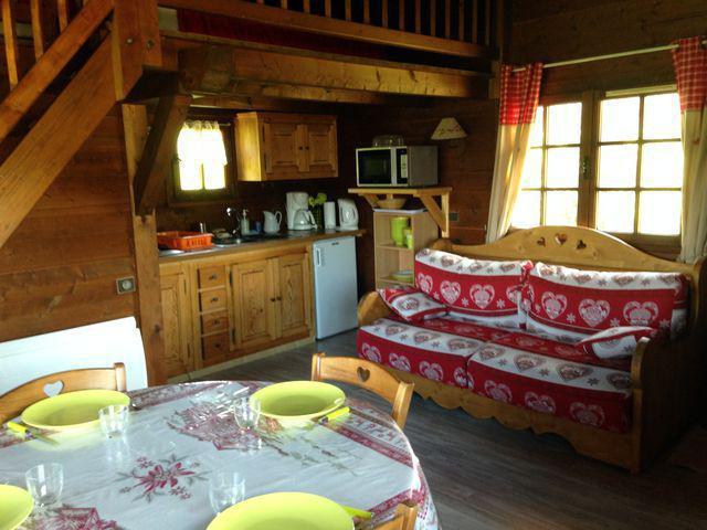 Ski verhuur Chalet 1 kamers mezzanine 4 personen (797) - Chalet de la Princesse - Combloux