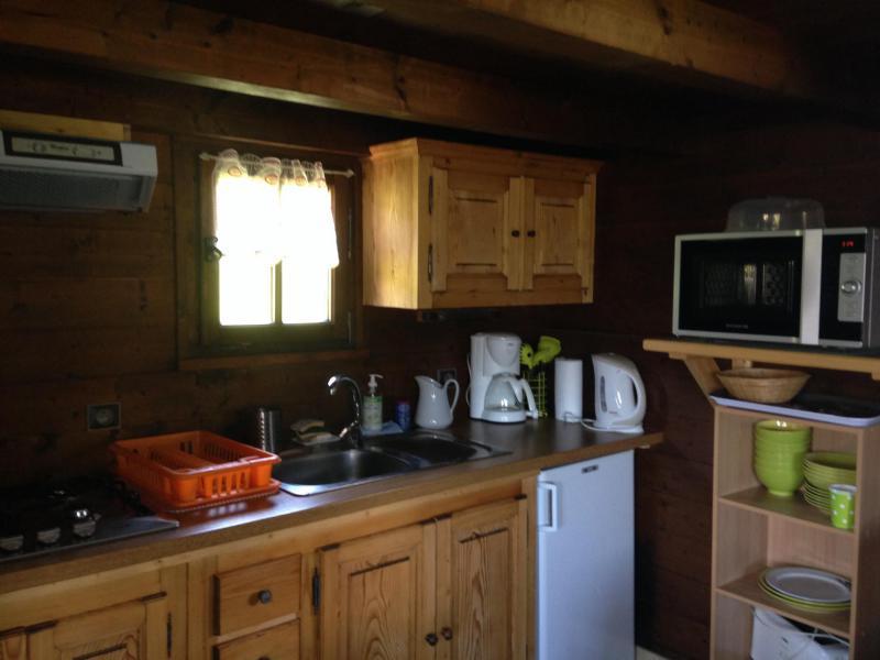 Ski verhuur Chalet 1 kamers mezzanine 4 personen - Chalet de la Princesse - Combloux - Appartementen
