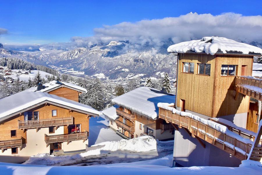 Wakacje w górach Les Chalets des Pistes - Combloux - Zima na zewnątrz