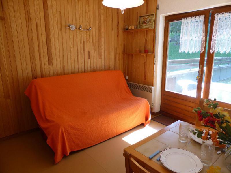 Аренда на лыжном курорте Апартаменты 3 комнат 6 чел. (291) - Résidence l'Ecrin des Glaciers - Daim - Combloux - Банкетка выдвижная кровать
