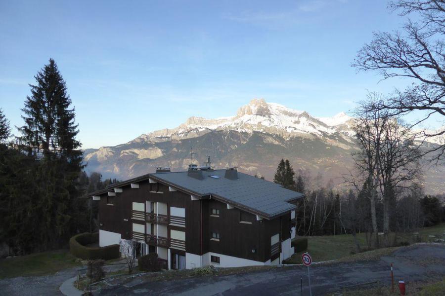 Rent in ski resort 2 room apartment sleeping corner 7 people (895) - Résidence l'Ecrin des Glaciers - Hermine - Combloux - Winter outside