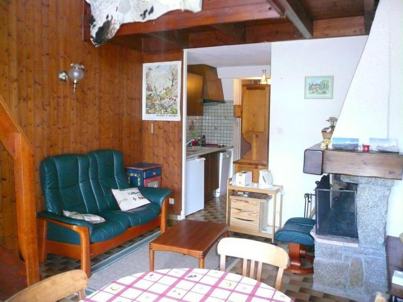 Аренда на лыжном курорте Апартаменты 2 комнат с мезонином 6 чел. (754) - Résidence l'Ecrin des Glaciers - Isard - Combloux - Салон