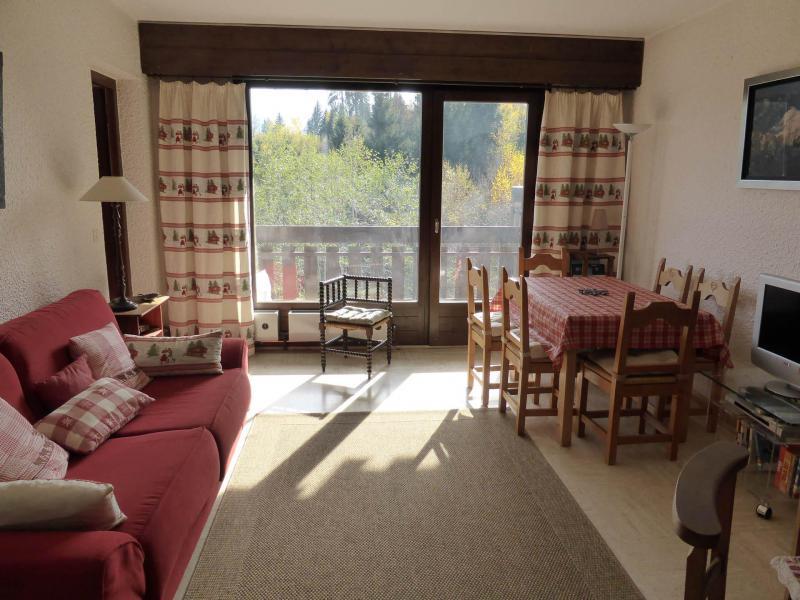 Аренда на лыжном курорте Апартаменты 3 комнат 7 чел. (7) - Résidence la Cry - Combloux