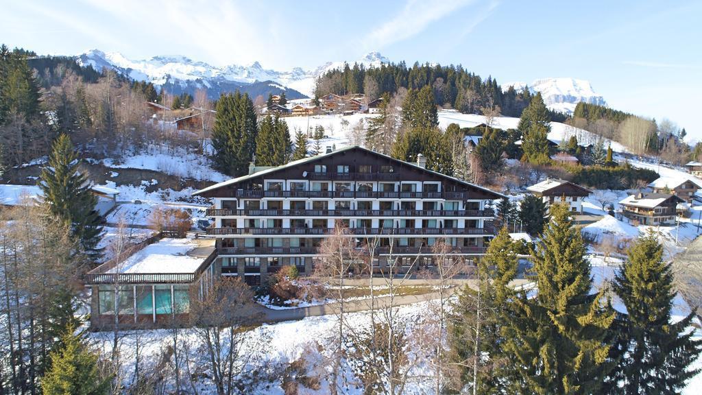 Аренда на лыжном курорте Résidence la Grande Cordée - Combloux - зимой под открытым небом