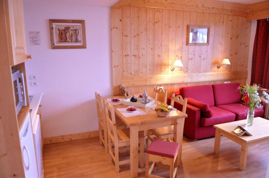 Location au ski Résidence la Grande Cordée - Combloux - Coin séjour