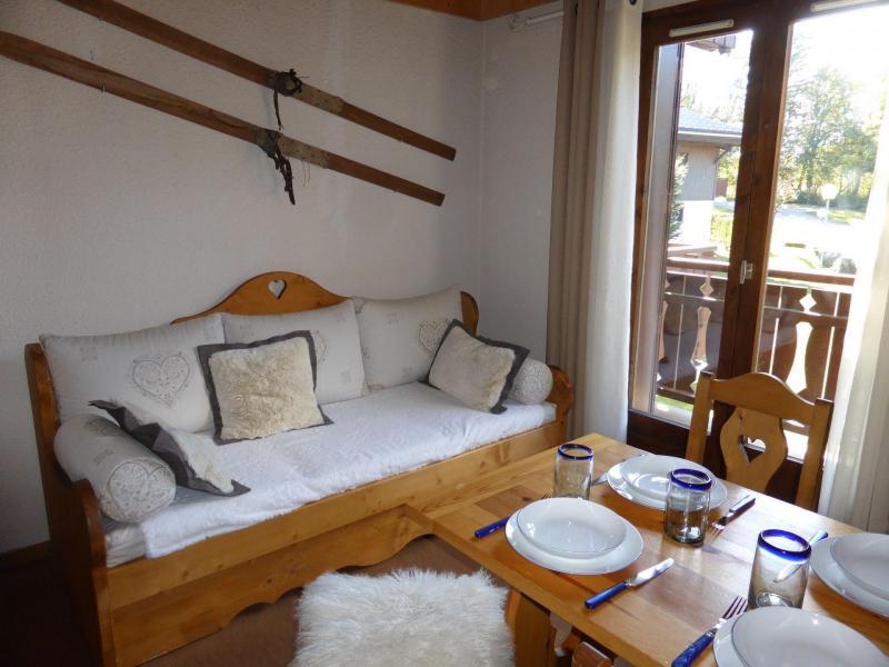 Rent in ski resort 2 room mezzanine apartment 5 people (891) - Résidence la Jacquerie - Combloux - Living room