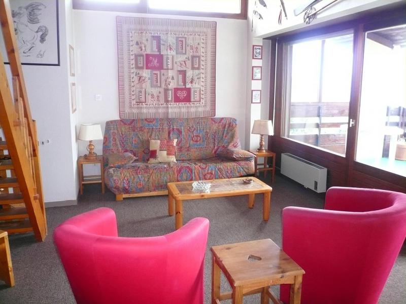 Аренда на лыжном курорте Апартаменты 2 комнат с мезонином 7 чел. (51) - Résidence les Cristaux du Haut - Combloux - апартаменты