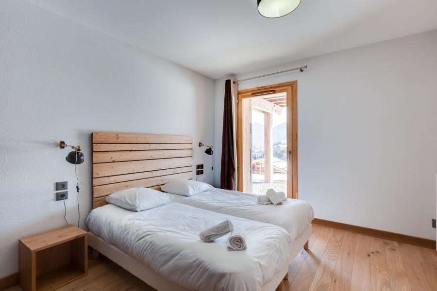 Location au ski Chalet semi-individuel 4 pièces 8 personnes (triplex) - Résidence les Fermes du Mont Blanc - Combloux - Chambre