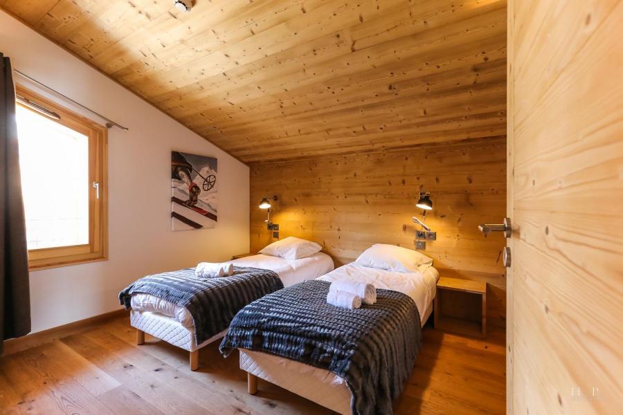 Location au ski Résidence les Fermes du Mont Blanc - Combloux - Lits twin