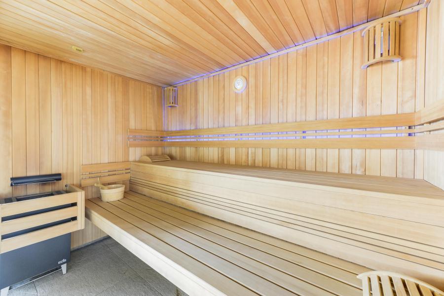 Location au ski Résidence les Fermes du Mont Blanc - Combloux - Sauna