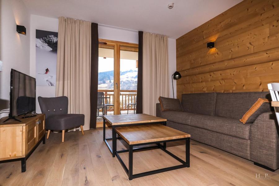 Location au ski Résidence les Fermes du Mont Blanc - Combloux - Tv