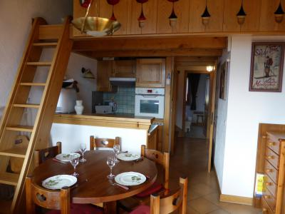 Rent in ski resort 3 room mezzanine apartment 6 people (A1) - Résidence Fontaine Désir - Combloux