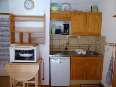 Rent in ski resort 3 room apartment 6 people (291) - Résidence l'Ecrin des Glaciers - Daim - Combloux - Kitchenette