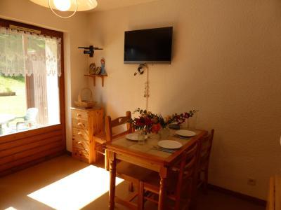 Rent in ski resort 3 room apartment 6 people (291) - Résidence l'Ecrin des Glaciers - Daim - Combloux - Table