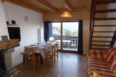 Rent in ski resort 2 room apartment sleeping corner 7 people (895) - Résidence l'Ecrin des Glaciers - Hermine - Combloux - Living room