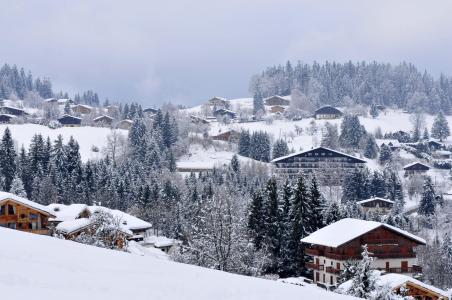 Location au ski Résidence la Grande Cordée - Combloux - Extérieur hiver