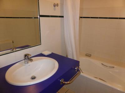Location au ski Appartement 2 pièces 4 personnes (894) - Résidence la Grande Cordée - Combloux - Baignoire