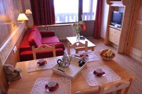 Location au ski Appartement 2 pièces 4 personnes (Aravis) - Residence La Grande Cordee - Combloux - Coin repas