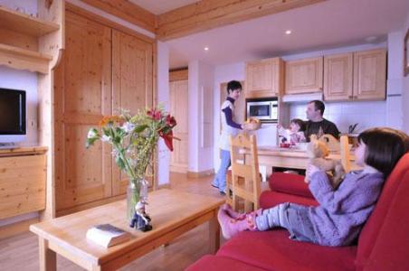 Location au ski Appartement 2 pièces 4 personnes (Aravis) - Residence La Grande Cordee - Combloux - Séjour