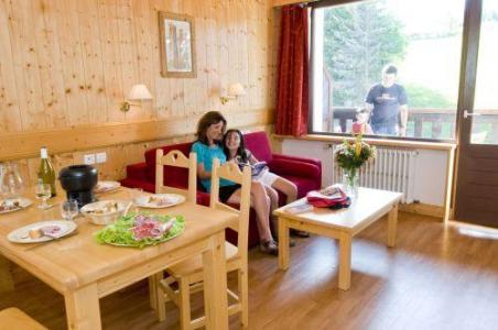 Location au ski Studio 2 personnes - Residence La Grande Cordee - Combloux - Séjour