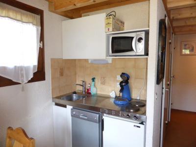 Rent in ski resort 2 room mezzanine apartment 5 people (891) - Résidence la Jacquerie - Combloux - Bunk beds