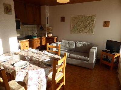 Rent in ski resort 3 room apartment 6 people (7) - Résidence Les  Elwoudis - Combloux
