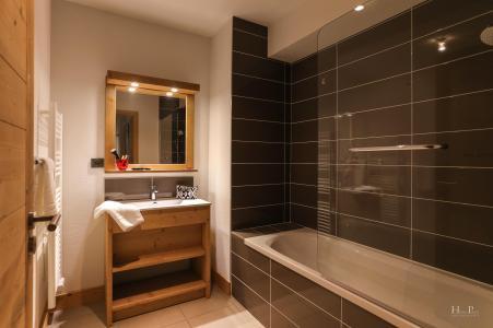 Rent in ski resort Résidence les Fermes du Mont Blanc - Combloux - Bath-tub