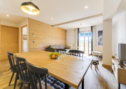 Rent in ski resort Résidence les Fermes du Mont Blanc - Combloux - Dining area