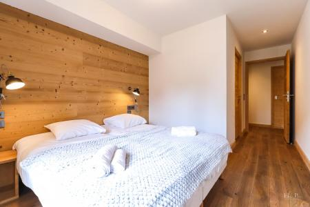 Rent in ski resort Résidence les Fermes du Mont Blanc - Combloux - Double bed