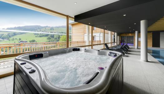 Rent in ski resort Résidence les Fermes du Mont Blanc - Combloux - Jacuzzi