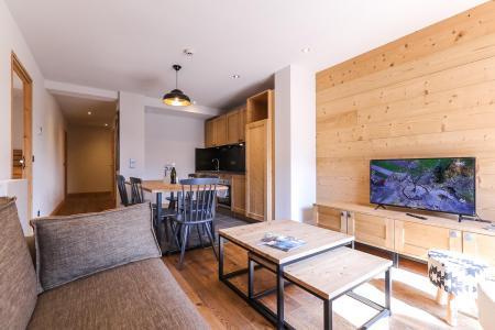 Rent in ski resort Résidence les Fermes du Mont Blanc - Combloux - Living room