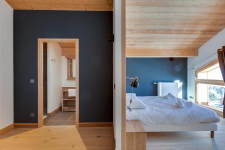 Rent in ski resort Semi-detached 4 room chalet 8 people (triplex) - Résidence les Fermes du Mont Blanc - Combloux - Bedroom