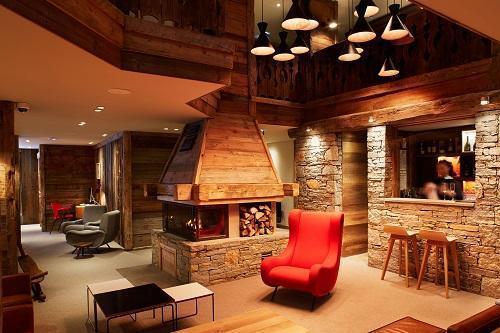 Location au ski Chambre Confort (2 personnes) - Hotel Des 3 Vallees - Courchevel - Bar
