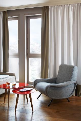 Location au ski Chambre Confort (2 personnes) - Hotel Des 3 Vallees - Courchevel - Chambre
