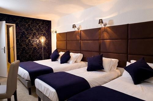 Location au ski Hotel Olympic - Courchevel - Chambre