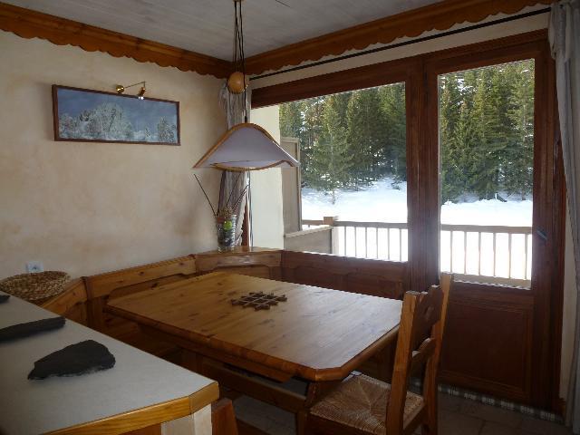 Location au ski Appartement 3 pièces cabine 5 personnes (602) - La Residence Foret Du Praz - Courchevel - Coin repas