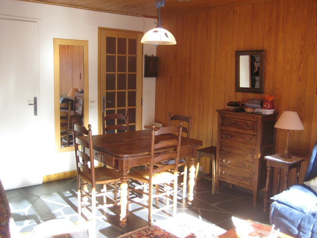 Location au ski Studio 3 personnes (RMIO202) - Residence La Roche De Mio - Courchevel - Coin repas