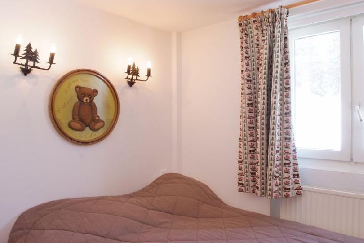 Location au ski Appartement 2 pièces cabine 6 personnes (77) - Residence Le Soleil Levant - Courchevel - Chambre