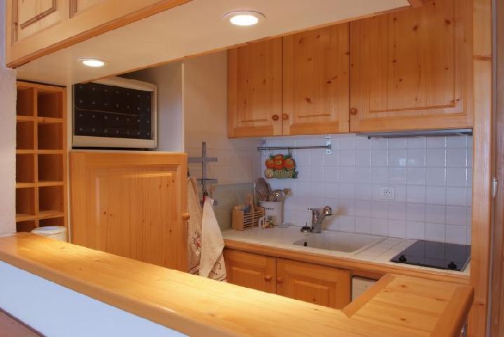 Location au ski Appartement 2 pièces cabine 6 personnes (77) - Residence Le Soleil Levant - Courchevel - Cuisine