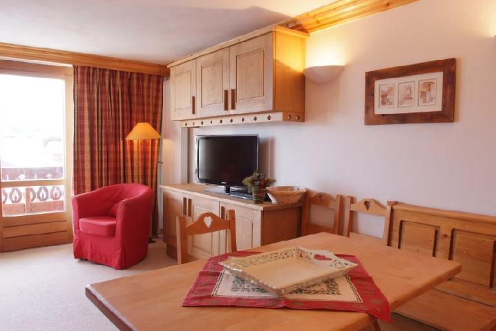 Location au ski Appartement 2 pièces cabine 6 personnes (77) - Residence Le Soleil Levant - Courchevel - Salle à manger