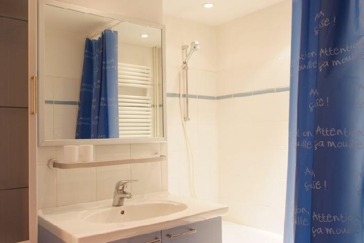 Location au ski Appartement 2 pièces cabine 6 personnes (77) - Residence Le Soleil Levant - Courchevel - Salle de bains